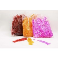 3 Pack Of Large Colour Feathers