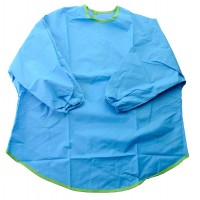 Aprons - With Sleeves Blue (Ages 3-5) (Buy 10 or more pay only $6 each)