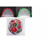 A Set of Soccer Goal with Ball ($75) or without a ball for ($65)