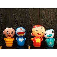 Blow up Bouncing dolls (A set of 4)