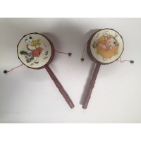 A Set of Hand Held Drum